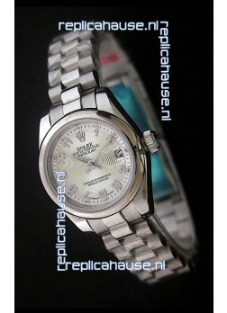 Rolex Datejust Oyster Perpetual Superlative ChronoMeter Japanese Steel Watch