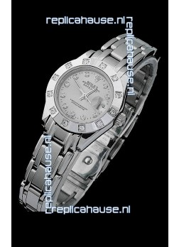 Rolex Datejust Ladies Japanese Replica Ladies Watch in Grey Dial