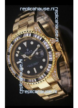 Rolex GMT Master II Swiss Replica Gold Watch