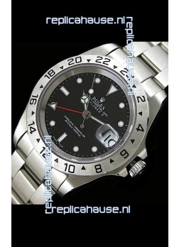Rolex Explorer II Japanese Replica Automatic Watch in Black Dial
