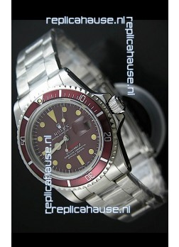 Rolex Vintage Submariner Swiss Replica Watch in Mulberry Dial