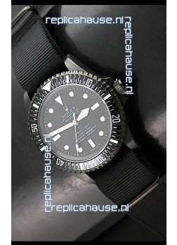 Rolex Pro Hunter Submariner Swiss Replica Watch in Carbon Bezel