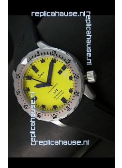 Sinn U1 Juweiler Roberto Limited Edition - 1:1 Mirror Replica Watch - Yellow Dial