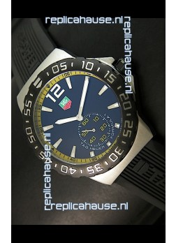 Tag Heuer Formula 1 Japanese Replica Watch in Quartz Movement - Yellow Dial Borders