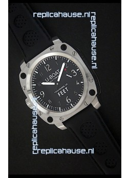 U-Boat Thousands of Feet Swiss Steel Automatic Watch