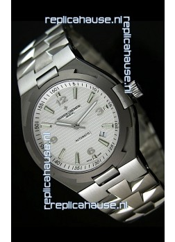 Vacheron Constantin Overseas Swiss Replica Watch - 1:1 Mirror Replica - White Dial