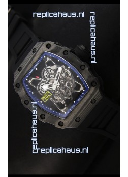 Richard Mille RM35-01 Rafael Nadal Edition Swiss Replica Watch in Blue Indexes