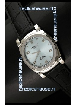 Rolex Cellini Japanese Replica Watch in Silver Dial