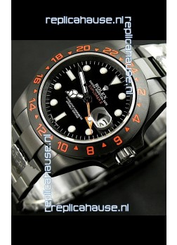 Rolex Explorer II Japanese Replica Automatic Black PVD Watch