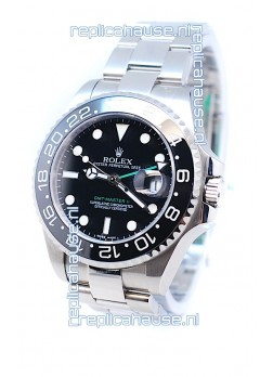 Rolex GMT Masters II 2011 Edition Replica Watch in Black Bezel