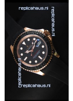 Rolex Yacht-Master 40 Oyster 40MM Watch in Everose Gold Swiss Watch