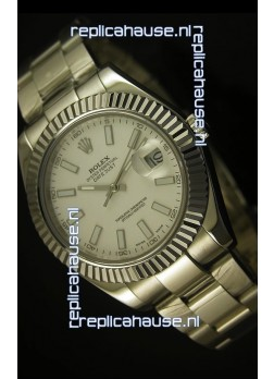 Rolex Datejust Swiss Watch in White Dial - 2836-2 ETA