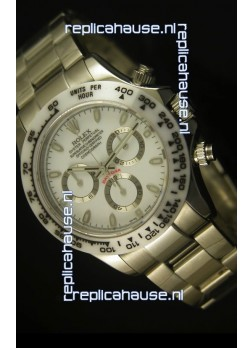 Rolex Daytona Cosmograph White Ceramic Bezel Replica Watch