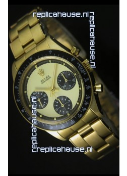Rolex Daytona 6263 Cosmograph Gold Dial in Gold Case