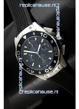 Tag Heuer Aquaracer Calibre 16 Swiss Watch in Dark Blue Dial