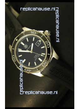 Tag Heuer Aquaracer Calibre 5 Black Dial Swiss Watch - 1:1 Mirror Edition