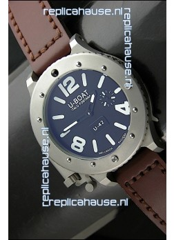 U Boat U-42 Diver Titanium Swiss Watch